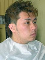 ヘアスタイル・髪型集小顔効果を狙ったシャープ感の漂うショートウルフ