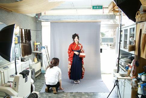 仙台卒業式袴写真・ロイヤル写真館